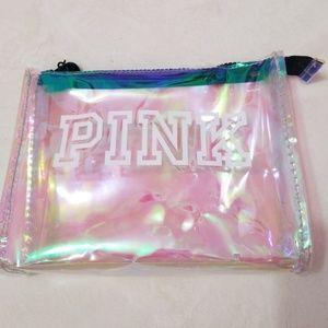 Pink toiletry bag